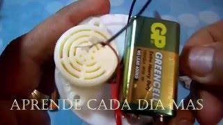 Dispositivo Que detecta Terremotos