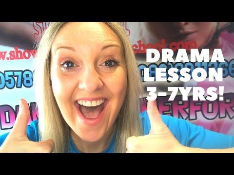 DRAMA LESSON 3-7YRS