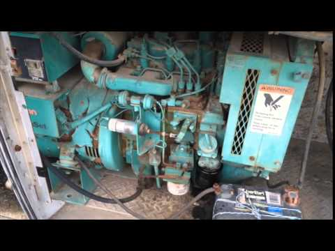 how to change fuel filter on onan diesel generator
