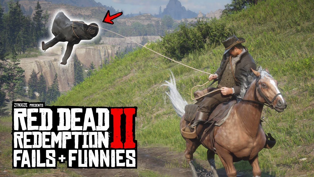 Red Dead Redemption 2 - Fails & Funnies #143 thumbnail