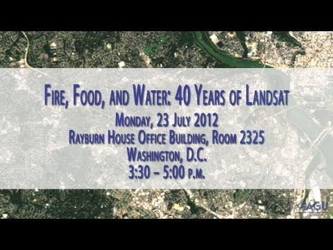 Fire, Food, and Water: 40 Years of Landsat Satellites