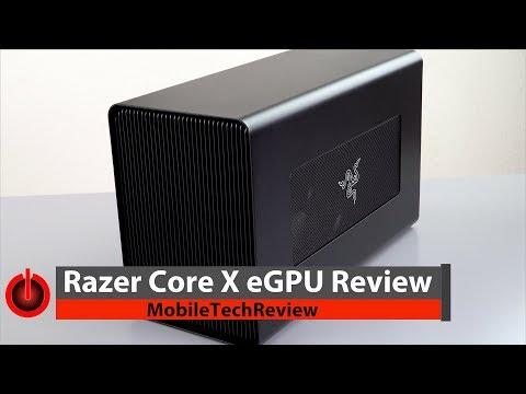 Razer Core X Review - Razer's New Cheaper Thunderbolt 3 eGPU