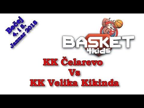 KK Čelarevo Vs KK Velika Kikinda  - Basket 4 kids - Basket4kids - Bečej