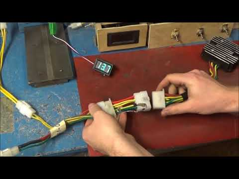 4 Motorcycle Overcharging Problem 12 Volt Sensors YouTube