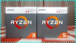 Ryzen 2400G y 2200G Llegan las APU de AMD | REVIEW en Español