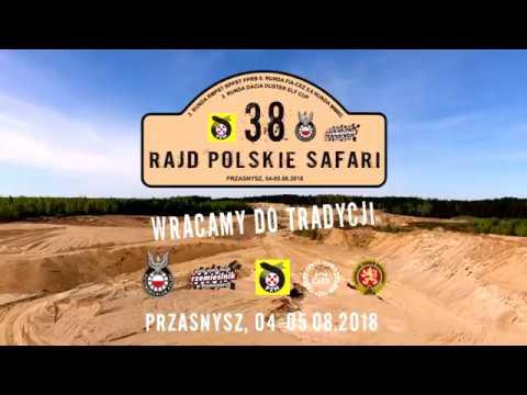 Rajd Polskie Safari 04.08.-05.08.2018 Przasnysz