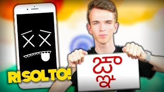 Il Simbolo che BLOCCA Gli iPhone - Come RISOLVERE