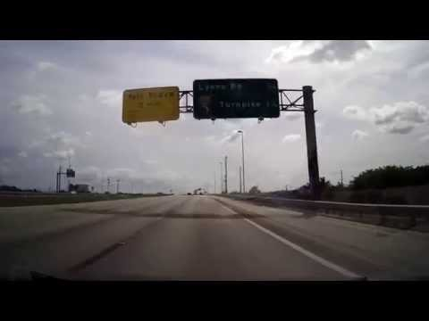 Driving from Weston to Boca Raton, Florida