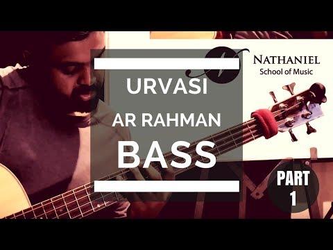 Urvasi - AR Rahman - Bass Line - Different Fretboard Positions - Part 1