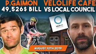 Phil Gaimon To Pay $49,526 Medical Bill?! VeloLife vs Local Council (Cyclists STILL Banned!)