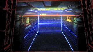Discs of Tron Arcade Game Review - Bally/Midway 1983 - UDOT/EDOT