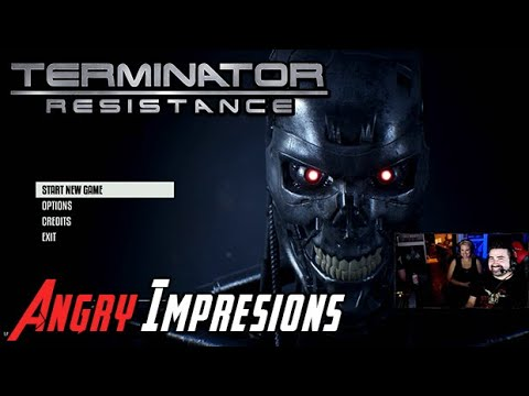AJ's Terminator: Resistance - Angry Impressions!