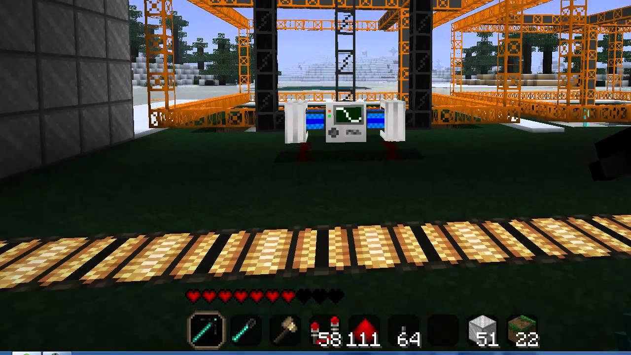 Automatic Mining Machine (Buildcraft, Industrial Craft ...