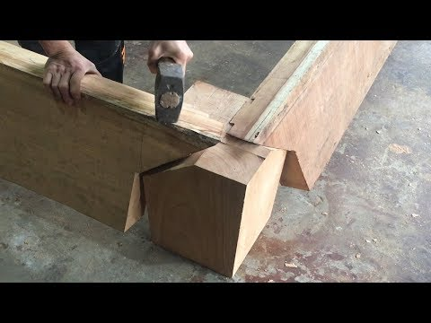Amazing Techniques And Skills Build Magic Wood Joints // Smart Creative Joints You've Never Seen