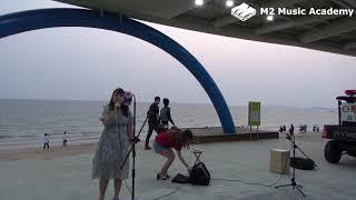 [취미] #2 대천해수욕장 버스킹 '벤 - 180도' / 엠투실용음악학원
