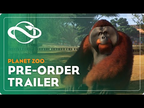 Planet Zoo's Gamescom Trailer is Ridiculously Adorable