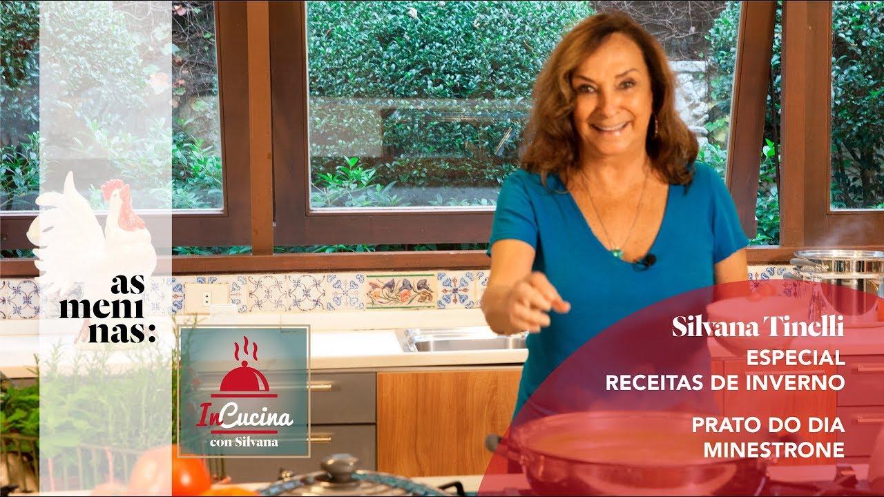 In cucina con silvana receitas de inverno minestrone youtube - Silvana in cucina ...
