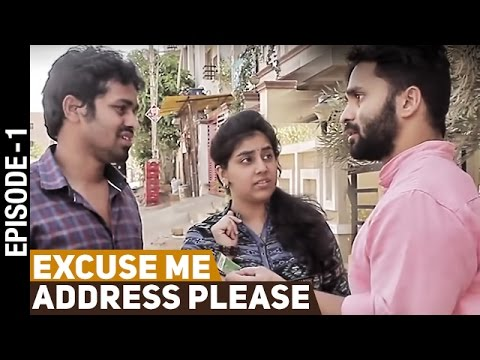 Excuse Me Address Please | Latest Telugu Comedy Video | Chandragiri Subbu