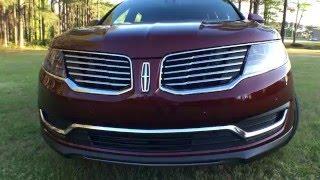 Best Detailed Walkaround 2016 Lincoln MKX AWD