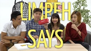 Potato Box: Limpeh Says