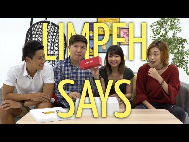 Potato Box: Limpeh Says