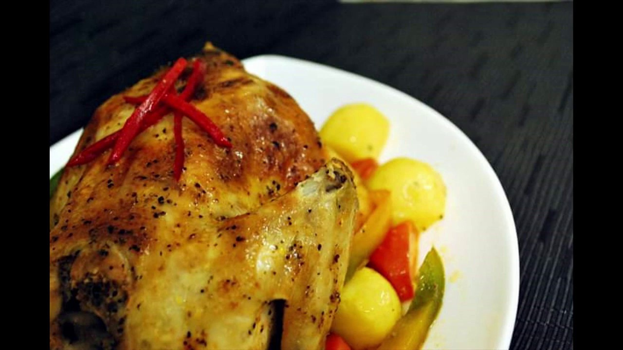 Resepi ayam panggang dan cara memasak- ketuhar, Noxxa dan magic pan. Mudah dan ringkas. - YouTube
