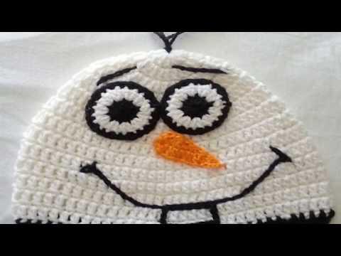 Gorro crochet OLAF