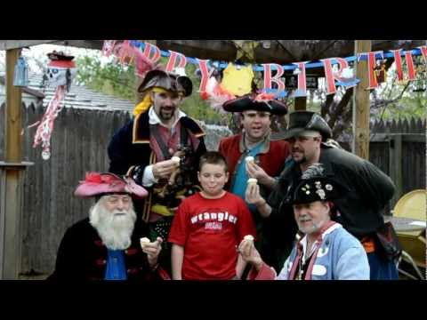 The Bilge Pumps - Bilge Pumps Birthday Song (Official Music Video) - Pirate Birthday