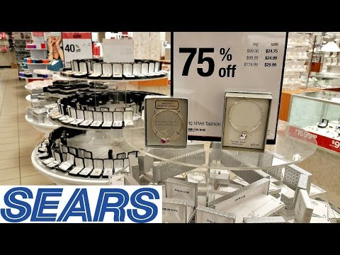 SEARS SHOP WITH ME BLOW OUT SALE CLOTHING JEWELRY WALK THROUGH 2018