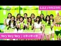 I.O.I - Very Very Very | 아이오아이 - 너무너무너무 [Music Bank HOT Stage / 2016.11.04]