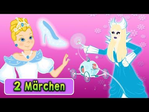 Gute Nacht Geschichte | Aschenputtel Märchen - Die Schneekönigin Zeichentrick | Märchen für Kinder