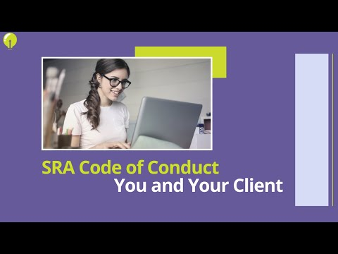Conduct: You and Your Client