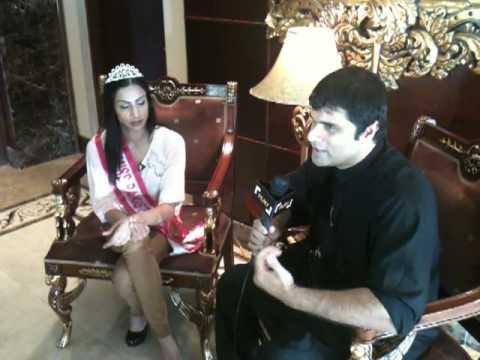 Filmy Tv Interview of Miss Pakistan Globe 2011 Attia Bano