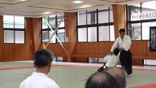 万生館合気道研修交流会2014年5月 正龍館演武