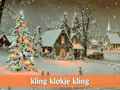 """♪ Kerstliedje: """"Kling klokje klingelingeling"""" met tekst!"""