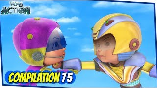Vir The Robot Boy   Animated Series For Kids   Compilation 75   WowKidz Action