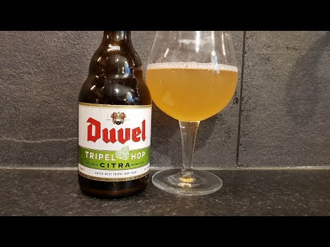 Duvel Tripel Hop Citra By Brouwerij Brasserie Duvel Moortgat | Belgian Craft Beer Review