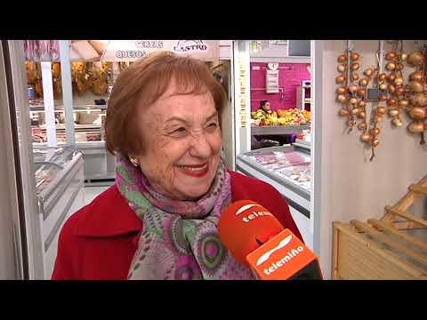 Precios y compras navideñas en la Praza de abastos 4 12 19