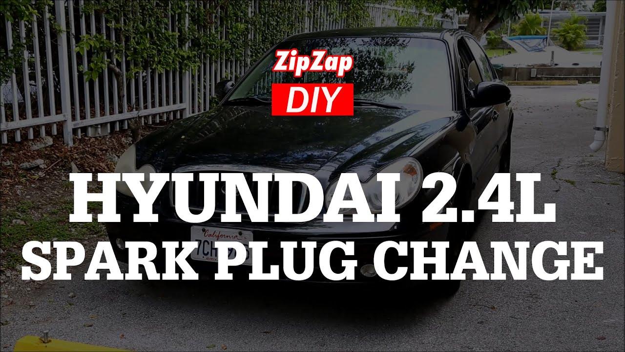 hyundai sonata 2 4l spark plug change tool list gap torque specs [ 1280 x 720 Pixel ]