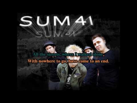 Sum 41 -  With Me (Karaoke)