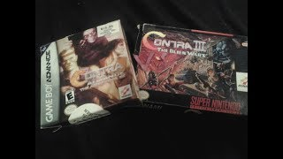 Contra Advance Vs. Contra III by Second Opinion Games