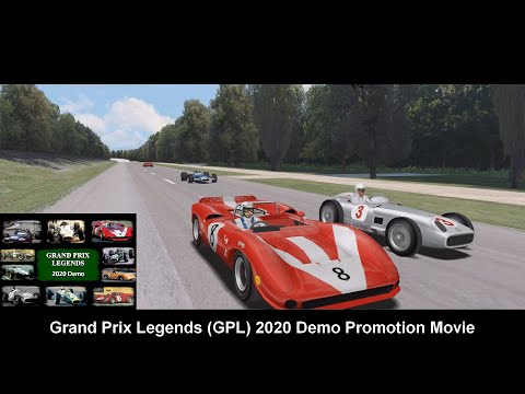 GPL 2020 Demo Promotion Movie (Grand Prix Legends 2020 Demo)