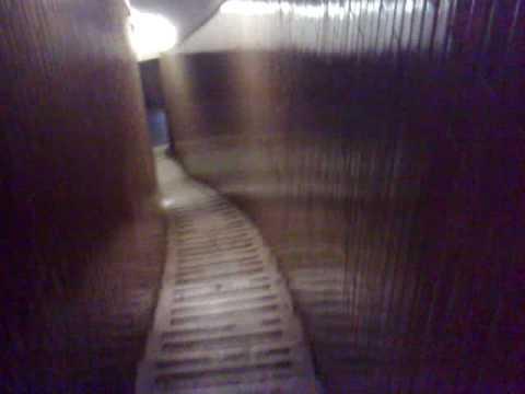 aventura de bajar las escaleras de la cupula San Pedro