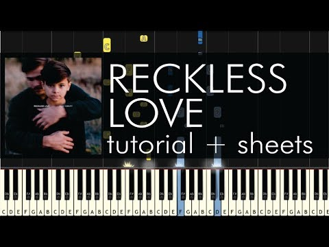 Cory Asbury  Reckless Love  Piano Tutorial + Sheets