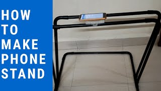 How to make phone stand|easy phone stand for making videos in youtube