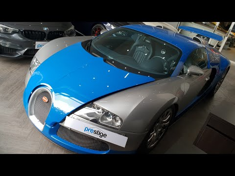 In Depth Tour Bugatti Veyron 16.4 - Indonesia