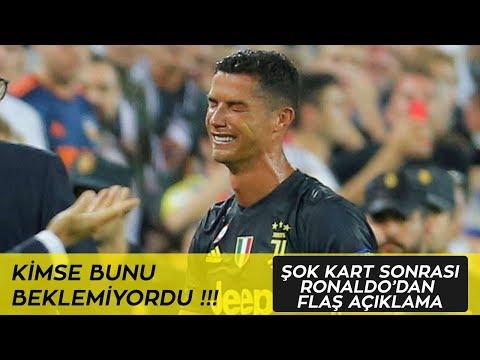 Cristiano Ronaldo Kırmızı Kart Gördü 19.09.2018