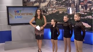 Contortionist Interview on CTV Morning Live | KaliAndrews Dance Co