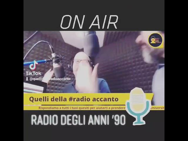 La radio degli anni 90