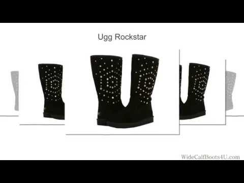 Ugg Rockstar - Gorgeous Wide Calf Boot With Studs